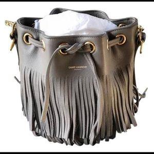6eaa75a583781 Women Saint Laurent Fringe Bag on Poshmark
